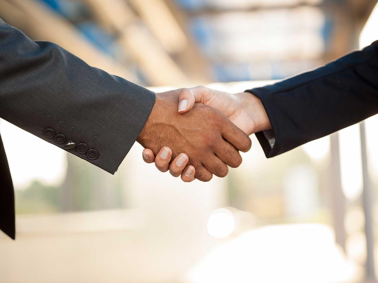 Parter Handshake