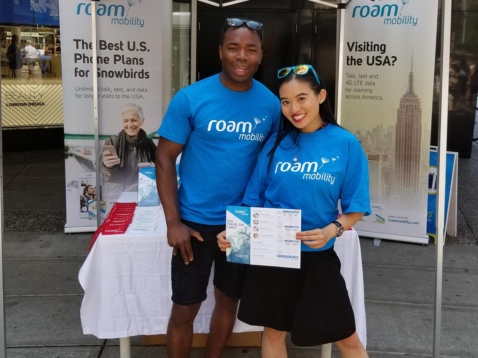 Roam Mobility Street Marketing - UB Marketing